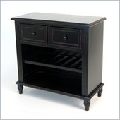Wayborn Birchwood Small Sideboard in Black