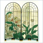 Wayborn 4 Panel Arched Window of Fragrance Room Divider