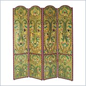 Wayborn Hand Painted The French Scroll Room Divider