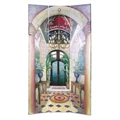 Wayborn Hand Painted Ital Grand Foyer