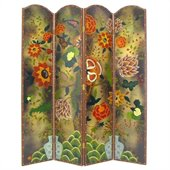 Wayborn Hand Painted Tree Of Life Room Divider