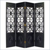 Wayborn Spider Web Room Divider in Black