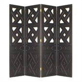Wayborn Windmill Room Divider in Black