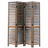 Wayborn Venetian Room Divider in Walnut