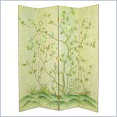 Wayborn Hand Painted Mudan Room Divider