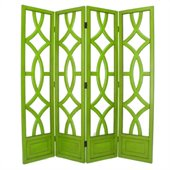 Wayborn Charleston Room Divider in Moth Green