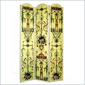 Wayborn Hand Painted The French Room Divider