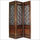 Wayborn Suchow Window Room Divider in Walnut