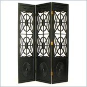 Wayborn Spider Web Room Divider in Antique Black