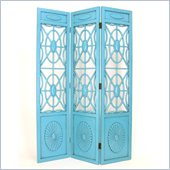 Wayborn Spider Web Room Divider in Teal