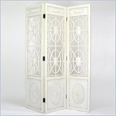 Wayborn Spider Web Room Divider in Whitewash