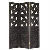 Wayborn Wiindmill Room Divider in Antique Black