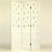Wayborn Wiindmill Room Divider in Whitewash