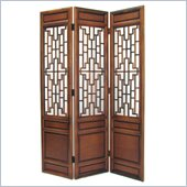 Wayborn Cathay Room Divider in Walnut