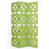 Wayborn Hunter Room Divider in Green