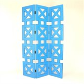Wayborn Hunter Room Divider in Teal