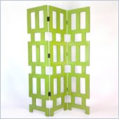 Wayborn Abertson Room Divider in Green