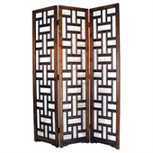 Wayborn Sirlanka Room Divider in Brown
