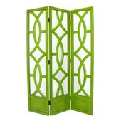 Wayborn Charleston Room Divider in Green
