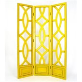Wayborn Charleston Room Divider in Yellow