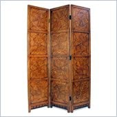 Wayborn Bamboo on Oakwood Congo Room Divider in Walnut