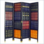 Wayborn 4 Panel Book Room Divider