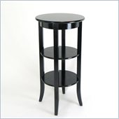 Wayborn Wallace Display Table in Antique Black