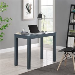 Altra Furniture Delilah Computer Desk with Drawer in Gray