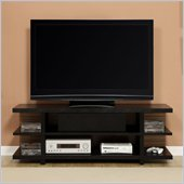 Altra Furniture Hollow Core 60 Inch TV Stand in Black Ash