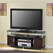 Altra Furniture Carson 48 Inch TV Stand in Cherry