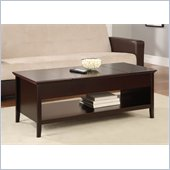 Altra Furniture Lift Top Coffee Table in Espresso