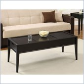 Altra Furniture Storage Coffee Table in Black Espresso