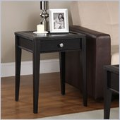 Altra Furniture End Table in Black Espresso