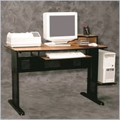 Altra Furniture Computer Desk in Oak and Black