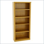 Altra Furniture Nassau 5 Shelf Bookcase in Natural