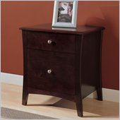 Altra Furniture Astute Filing Cabinet in Espresso