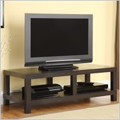 Altra Furniture Parsons 42 Inch TV Stand in Espresso