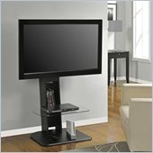 Altra Furniture Galaxy TV Stand with Mount in Black