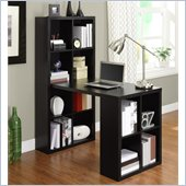 Altra Furniture Hollow Core Hobby Desk in Black