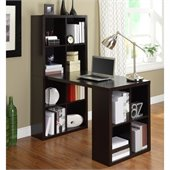 Altra Furniture Hollow Core Hobby Desk in Espresso