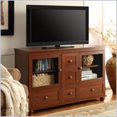 Altra Furniture TV Console with Mount in Madison Cherry