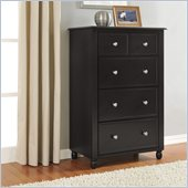 Altra Furniture Winslow 5 Drawer Storage Chest in Espresso Finish