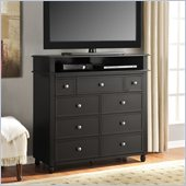 Altra Furniture Winslow Media Storage Chest in Espresso Finish