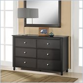 Altra Furniture Winslow Wide Storage Chest in Espresso Finish