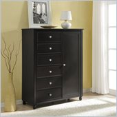 Altra Furniture Winslow Storage Armoire in Espresso Finish