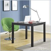 Altra Furniture Parsons Multipurpose Table in Black Finish