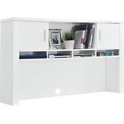Altra Furniture Princeton Hutch for Home Office in White
