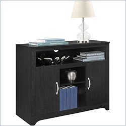 Altra Furniture Woodland Storage Cabinet in Black