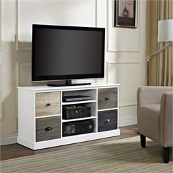 Altra Furniture Mercer TV Stand in White