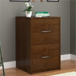 Altra Core 2 Drawer Filing Cabinet in Northfield Alder